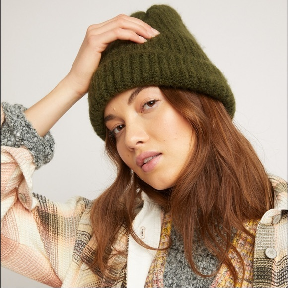 Free People Lullaby Soft Knit Beanie